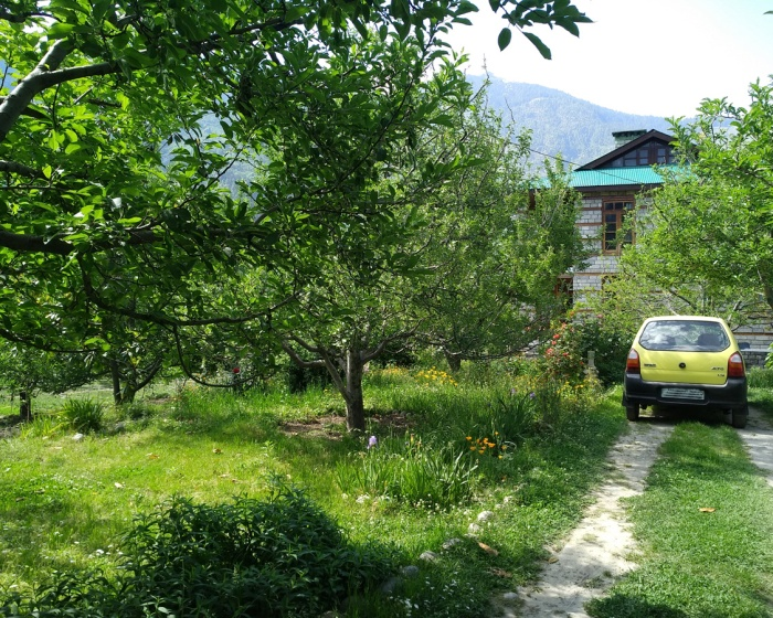 Apple Tree Luxury Cottage No.1 - Two Bedroom Drawing Dinning with Kitchen in Manali